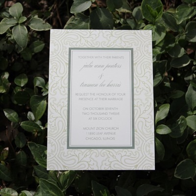 Invitation Template – Antique Lace