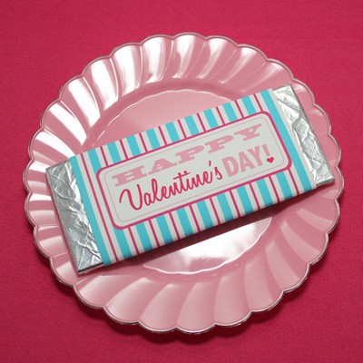 Valentine s day party template candy bar wrapper for Valentine candy bar wrapper templates