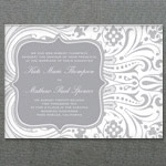 Art Deco Invitation Template