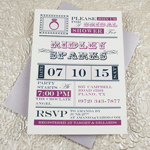 Vintage Ring Bridal Shower Invitation Template