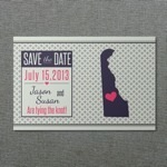 Delaware Printable Save-the-Date Postcard