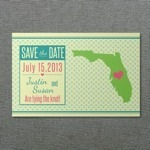 Florida save-the-Date Template