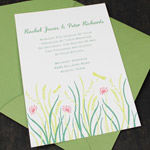 Invitation Template - Grass & Wildflower Spring