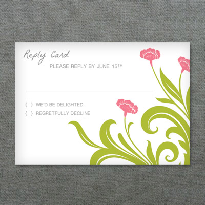 deco flower diy rsvp card template download print. Black Bedroom Furniture Sets. Home Design Ideas
