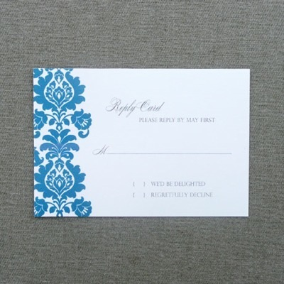 Rsvp Template Rococo Rsvp Card Download Amp Print