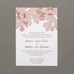 Invitation Template - A7 Fall Leaves