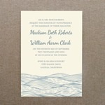 Invitation Template - Beach Waves Design