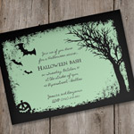 Halloween Invitation Template - Spooky Woods