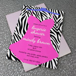 Lingerie Bridal Shower Invitation Template
