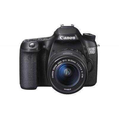 IGRMTB6491 - Canon EOS 70D 20.2 Megapixel Digital SLR Camera (Body with Lens Kit) - 18 mm - 55 mm