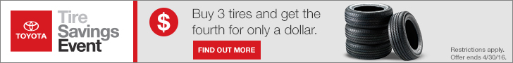 National April Tire Savings Event
