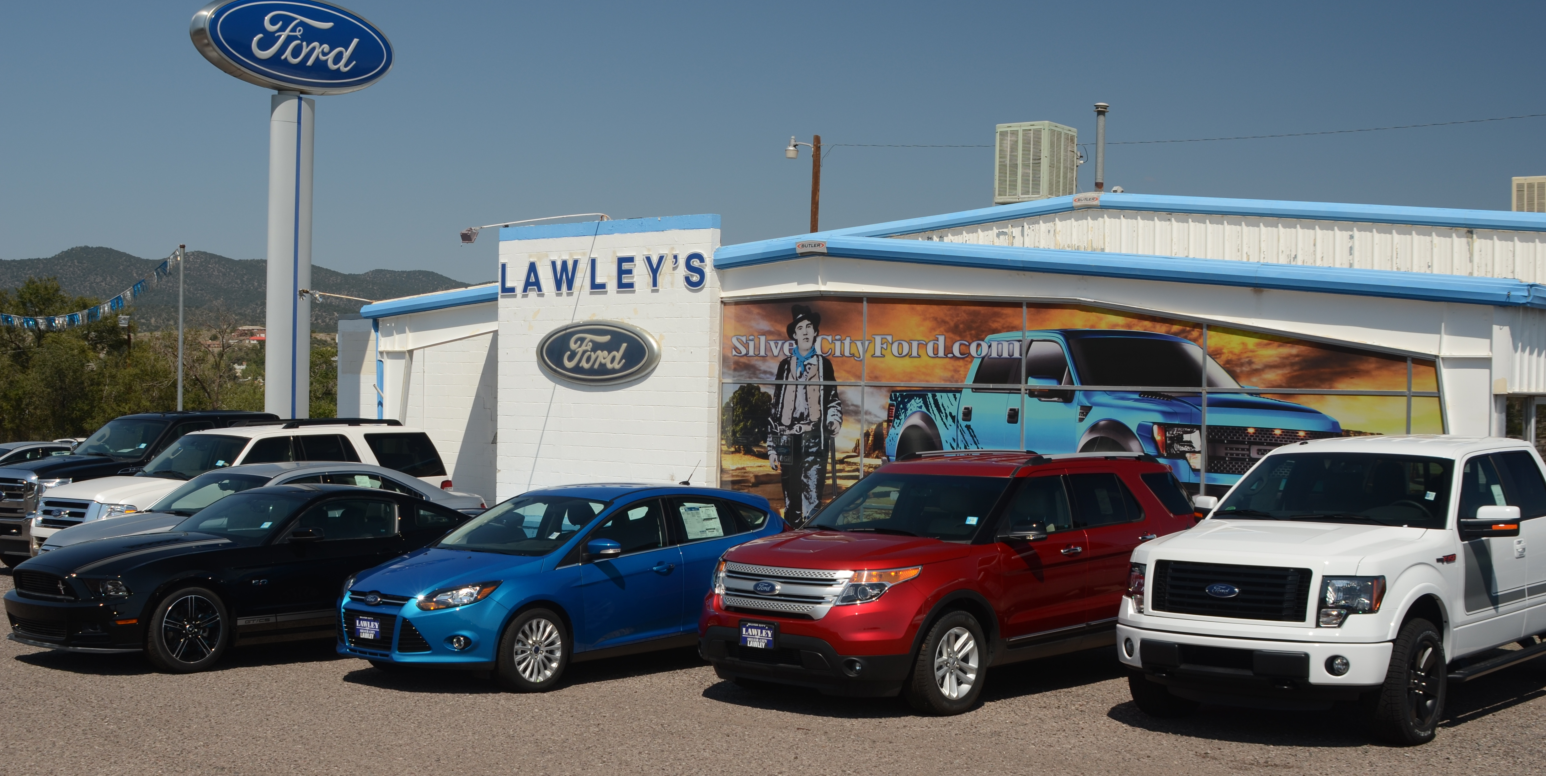 Lawley's Team Ford Silver City