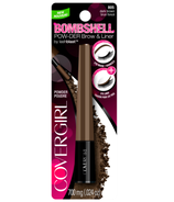 CoverGirl Bombshell Powder Brow & Liner in Dark Brown