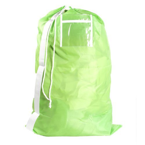 Cotton Laundry Bag With Shoulder Strap Jenna Shoulder Bag
