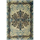 Celtic Tattoo Tie-Dye Tapestry