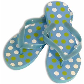 Style Dot Blue Women's Shower Sandal