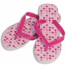 Pink Hearts Women's Shower Sandal