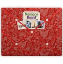 Paisley Floral Lipstick Memory Board