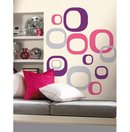Modern Ovals Wall Accents