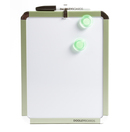 8.5&quot; x 11&quot; Metallic Dry-Erase Board - Magnetic