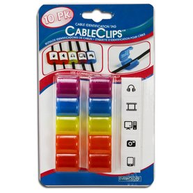 Cable Identification Clips - 10 pk