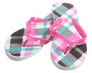 Vibrant Argyle Women's Shower Sandals