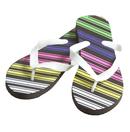 Multi-Stripe Women's Sandals