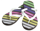Multi-Stripe Women's Sandals