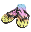 Rainbow Dot Women's Sandals