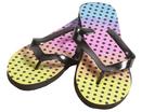 Rainbow Dot Women's Sandals