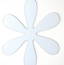 Flower Peel & Stick Mirror