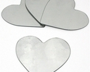 Mini Hearts Peel &amp; Stick Mirrors - 4 pk