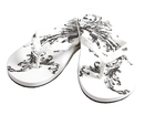 Epic White Men's Sandals