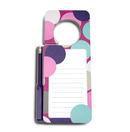 Door Hanger Notepad - Confetti Dot