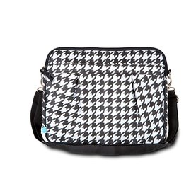 Houndstooth Small Laptop Sleeve