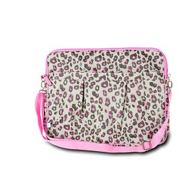 Leopard Large Laptop Sleeve