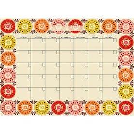 Carnivalé Peel & Stick Dry Erase Calendar