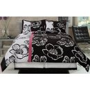 Black &amp; White Twiggy Comforter Set