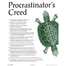 Procrastinators Creed