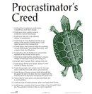 Procrastinators Creed