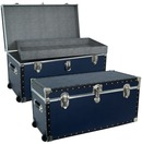 The dorm Base blue oversize trunk