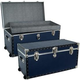 The dorm Base blue oversize trunk
