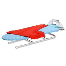 Tabletop Ironing Board With Retractable Iron Rest