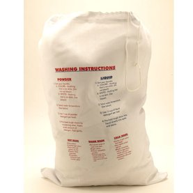 Laundry Bag with Printed Instructions