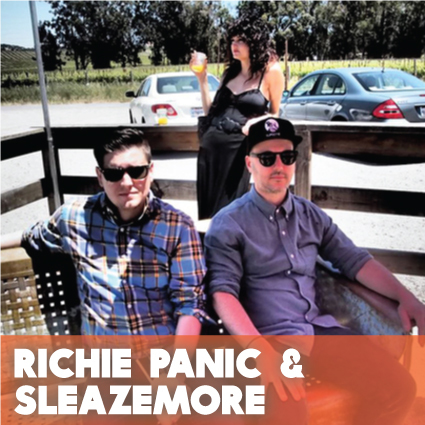 Richie Panic and Sleazemore