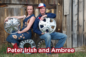 Peter Irish and Ambree