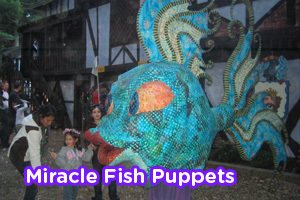 Miracle Fish Puppets