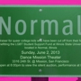 Normal A fundraiser in San Francisco for queer college kids who have been cut off from their families, benefitting the LGBT Stud
