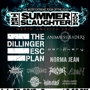 THE SUMMER SLAUGHTER TOUR 2013 The Dillinger Escape Plan w/ Animals As Leaders, Periphery, Norma Jean & more!