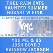 All Scene Eye & Mountair Present Venice Music Crawl with Caught a Ghost, Thee Rain Cats, You Me & Us, and more!